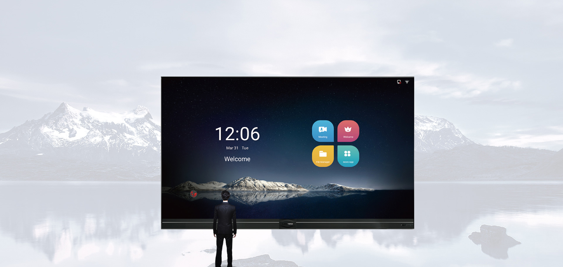 Touch Screen LED Smart Display